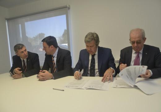 Inaugurado o Viveiro de Empresas de Riveira como un espazo clave para o fomento do emprendemento e a creación de emprego