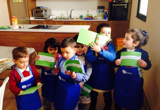 Finalizan os cursos infantís de cociña organizados polo Concello de Ordes