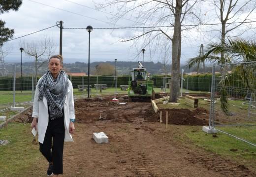 Cambre continúa o seu plan de renovación dos parques infantís do municipio