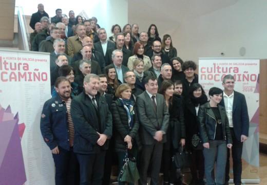Xosé Manuel Mira asiste á presentación do programa 'Cultura no Camiño'