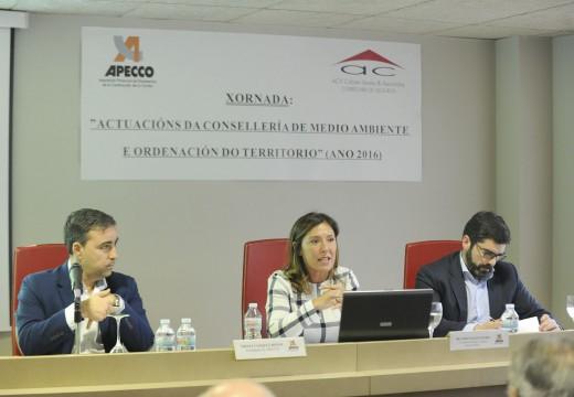 Beatriz Mato destaca que consolidar Galicia como unha terra verde e azul é contribuír ao desenvolvemento turístico e económico