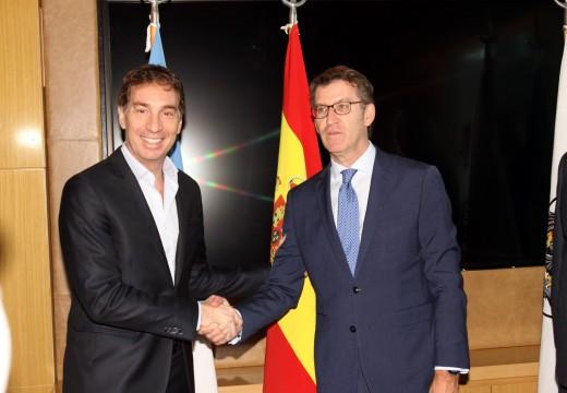 Feijóo agradece a acollida de Bos Aires nunha viaxe que está a permitir estreitar as relacións institucionais e culturais entre Galicia e a capital Arxentina