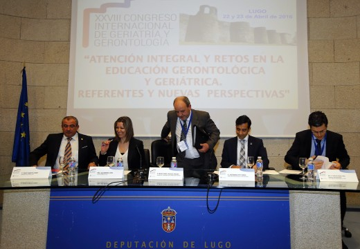 O conselleiro de Política Social reitera a importancia do envellecemento activo durante a clausura do XXVIII Congreso Internacional da Sociedade Galega de Xerontoloxía e Xeriatría