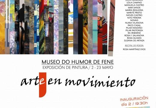 """""""Arte en movimiento"""" na Casa da Cultura de Fene"""