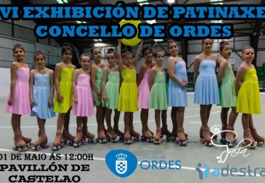 Máis de 300 nenos e nenas participarán este vindeiro domingo na VI Exhibición de Patinaxe Concello de Ordes