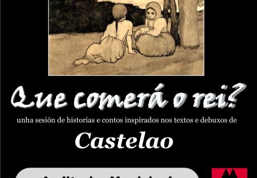 Actuación de Cándido Pazó este venres no Auditorio para conmemorar o Ano Castelao