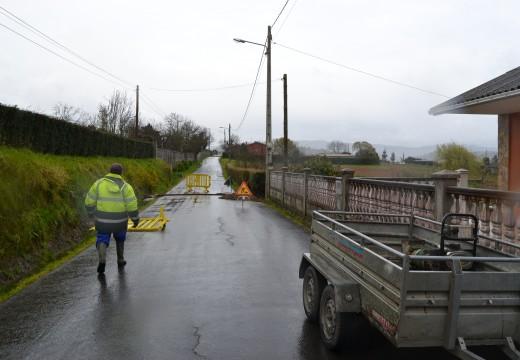 Cambre repara a Ponte de Brille para evitar a súa derrumbre