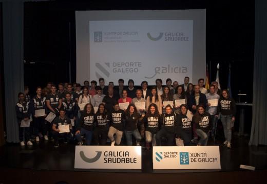 Lete Lasa recibe aos deportistas coruñeses campións de España en 2015 nas categorías absoluta ou previa á absoluta