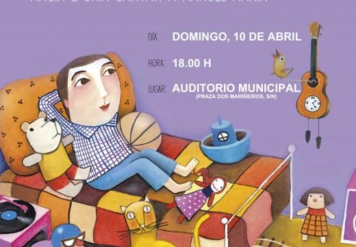 O Auditorio acollerá este domingo un concerto infantil dedicado a Manuel María, homenaxeado nas Letras Galegas 2016