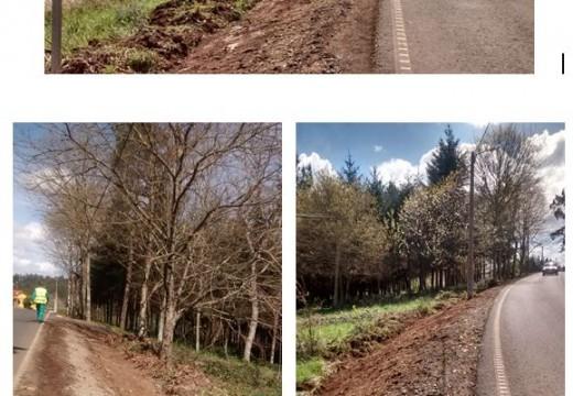 A Xunta inicia a construción dunha senda peonil entre Fonte Díaz e o empalme de Vilar, no concello de Touro