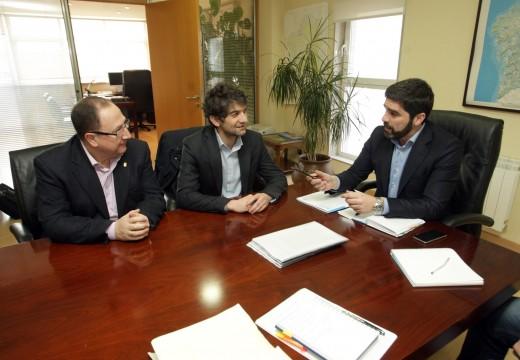 Augas de Galicia acorda con Ferrol e Narón prorrogar temporalmente o convenio de xestión do saneamento da ría