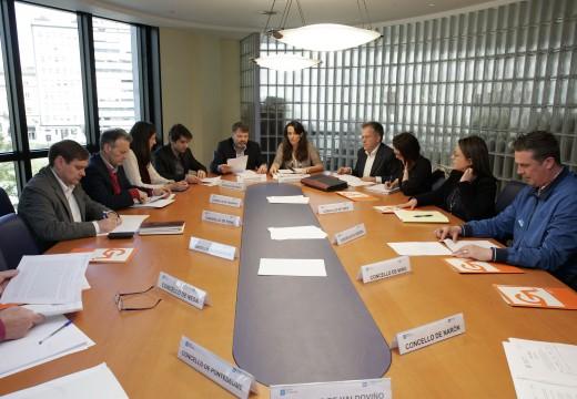 A Xunta e os concellos da área de Ferrol acordan por unanimidade a renovación do Plan de transporte metropolitano para o ano 2017, cun orzamento de máis dun millón de euros