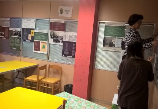 A biblioteca de Ordes abre a súa mostra temática sobre Manuel María Fernández Teixeiro