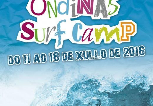 O Concello organiza o campamento de verán Ondiñas Surf Camp