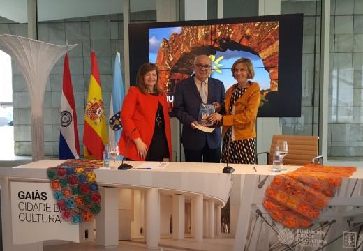 Nava Castro pon en valor a consolidada colaboración de Galicia e Paraguay para a promoción do turismo nos dous destinos