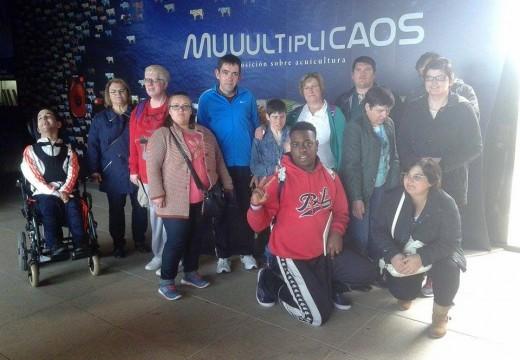 Excursión ao Aquarium Finisterrae do curso de Habilidades Sociais de Ordes