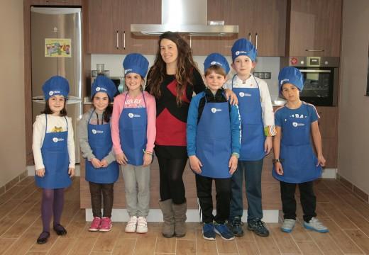 Clausura do curso infantil de cociña organizado polo Concello de Ordes