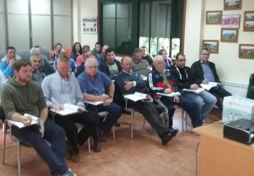 Frades acolle un segundo curso de aplicador / manipulador de produtos fitosanitarios no que participaron 29 veciños e veciñas