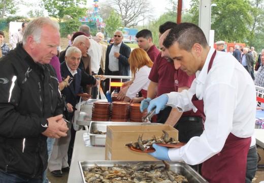A Festa da Troita de Oroso márcase o obxectivo de chegar aos 30.000 visitantes na súa vixésima edición, que terá lugar do 6 ao 8 de maio