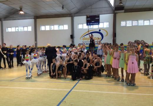 Terceira posición no Campionato Provincial de Grupos Show para o grupo benxamín do Club Galia
