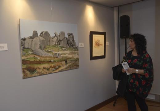 """Ampliada ata o 1 de xuño a exposición """"Abstracción vs Figuración"""" de Xoán Fernández no Centro Cultural Lustres Rivas"""