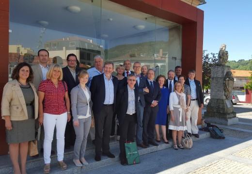 O xerente do Xacobeo participou en Portugal na Asemblea Xeral da Federación Europea do Camiño de Santiago