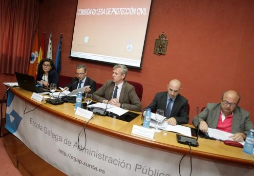 A Comisión Galega de Protección Civil aproba o Plan sectorial de asistencia a vítimas de accidentes aéreos e aos seus familiares