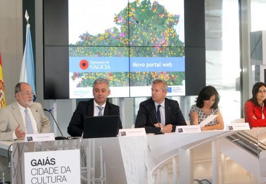 A Xunta renovará o web oficial de Toponimia para a normalización, xeolocalización e difusión da Toponimia Galega