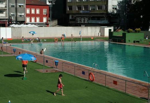 A piscina do Muíño inaugura a tempada estival en Ordes