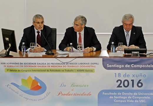 Conde destaca o impulso da Xunta para fomentar medidas de seguridade e saúde no traballo e favorecer a RSE nas pemes