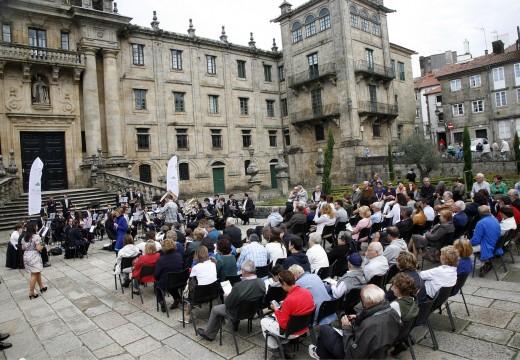 As Bandas de Arzúa e Vincios protagonizan o ciclo de concertos 'Música no Camiño'