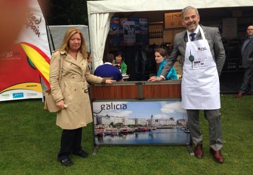 A gastronomía galega representa á cociña española en Italia, Irlanda e Chile con motivo do 'Día mundial da tapa'