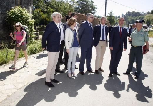 A Xunta asiste á presentación dos dispositivos de seguridade para o Camiño de Santiago
