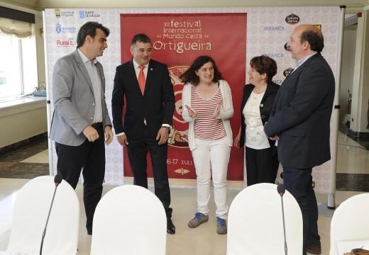 Diego Calvo incide na grandeza do Festival Internacional do Mundo Celta de Ortigueira na presentación da súa XXXII edición
