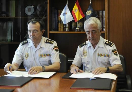 Policía Autonómica e Policía Nacional reforzan a súa colaboración na  protección das vítimas da violencia de xénero