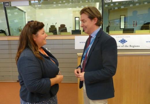 A Xunta defende en Bruxelas a importancia socioeconómica da pesca costeira artesanal en Galicia