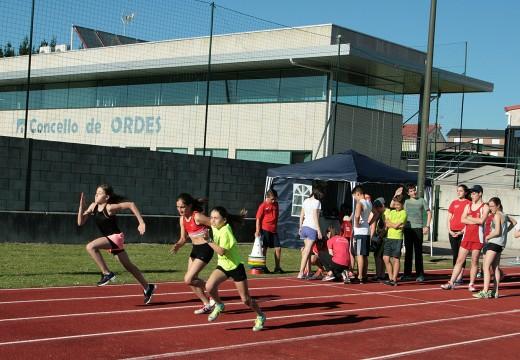 60 atletas da comarca participan no V Campus de Atletismo
