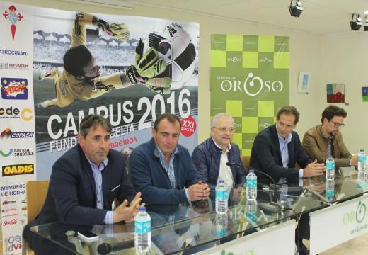 Aberta a inscrición no V Campus de Fútbol da Fundación Celta en Oroso, aberto a nenos e nenas de entre 4 e 16 anos