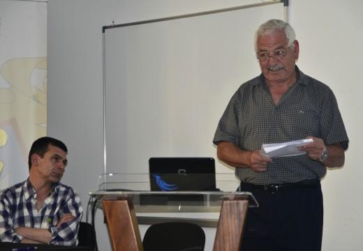 Clase maxistral de Francisco Sánchez Fraga sobre a historia de Corrubedo