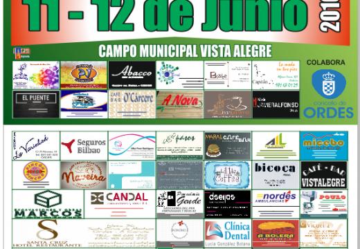 Vista Alegre acolle esta fin de semana o XI Torneo Fútbol 8 S.D. Club Órdenes