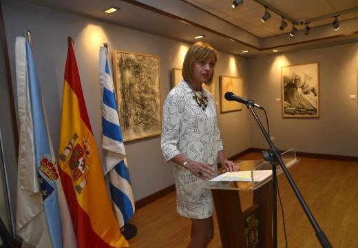 As trintas obras seleccionadas no Certame de Artes Gráficas Jesús Núñez da deputación exhíbense no Centro Cultural Lustres Rivas
