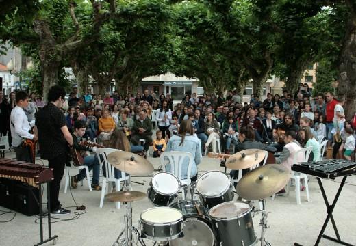 A Escola Municipal de Música clausura o curso cun festival  na Alameda de Ordes