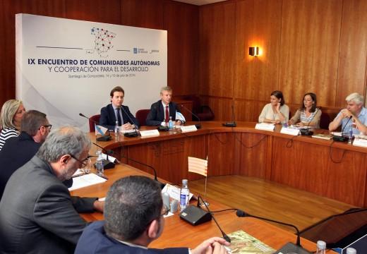 A Xunta aposta pola autonomía e a coordinación como claves para o bo funcionamento da cooperación española