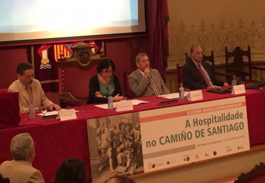 O Curso Internacional da USC sobre o Camiño de Santiago aborda a hospitalidade da ruta e os últimos estudos xacobeos