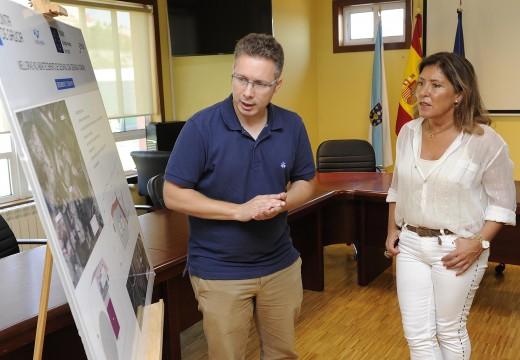 Mato e o alcalde de Oza-Cesuras presentan un proxecto que permitirá mellorar a rede de abastecemento desta localidade
