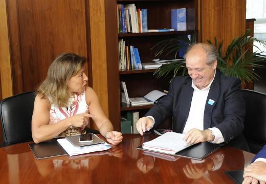 Mato reúnese co alcalde de Cerceda para tratar asuntos de interese para o concello