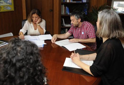 A Xunta garantirá o nivel de ingresos pola xestión de envases na planta de Nostián no marco do convenio con Ecoembes