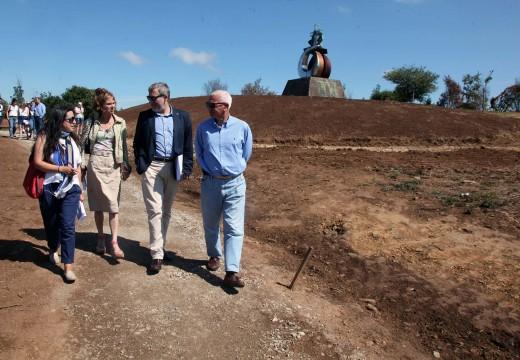 O Monte do Gozo mostra xa importantes avances grazas ao Plan de Actuación de Turismo de Galicia