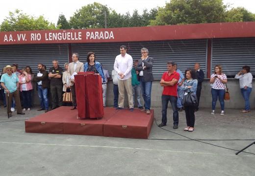 A conselleira de Medio Rural reuniuse coa veciñanza de Parada para informar sobre a concentración parcelaria