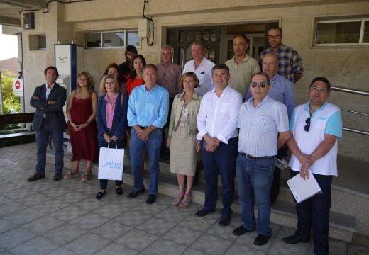 Turismo aposta por diseñar unha estratexia conxunta cos 20 concellos bañados polo Ulla para impulsar o turismo arredor dos recursos deste río